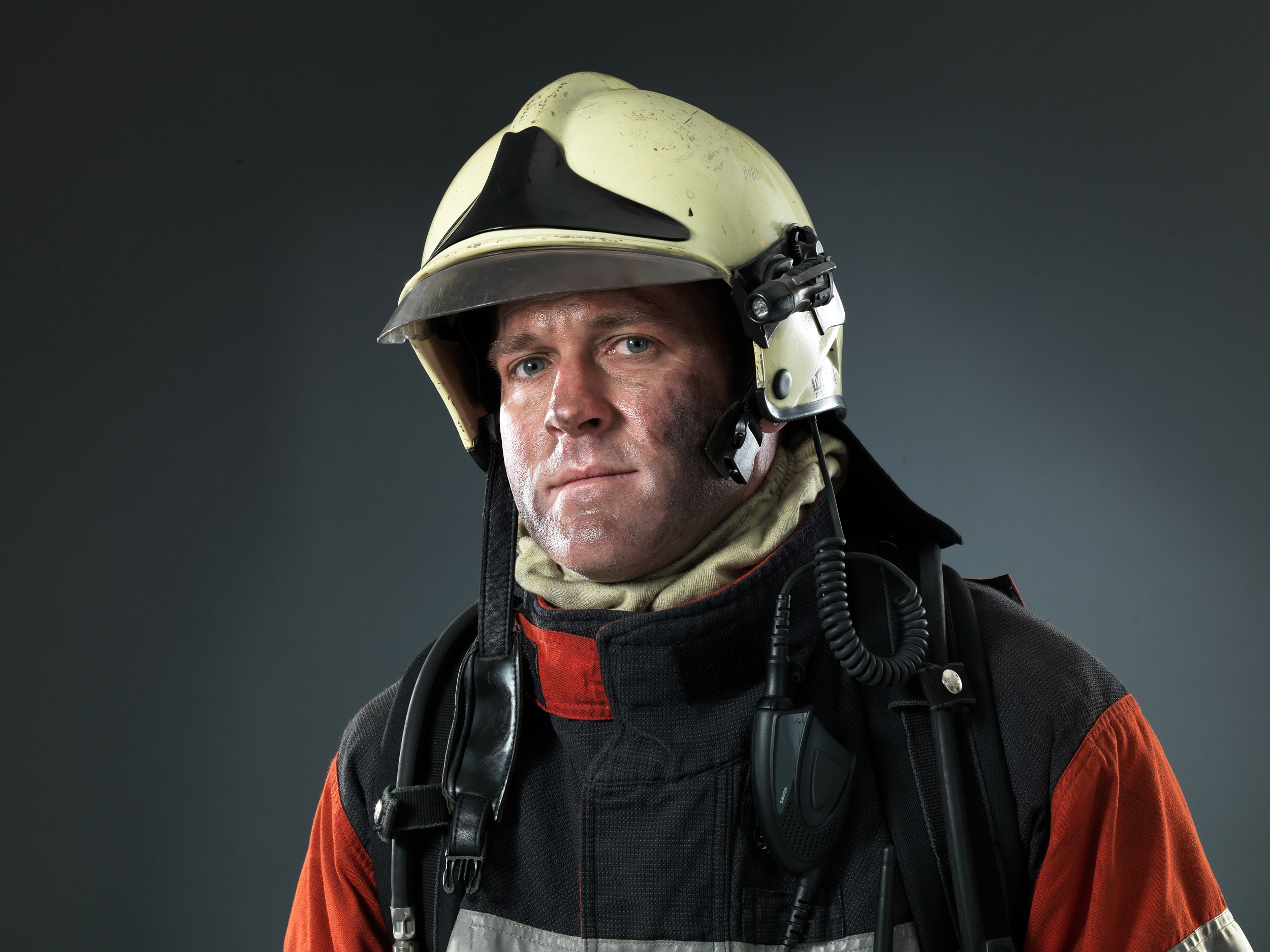 Firefighter unretouched
